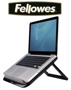 Podstawa pod laptop Quick Lift Fellowes I-Spire™ - czarna